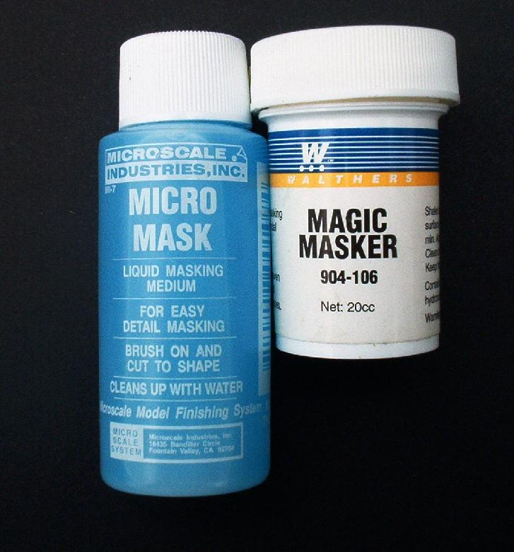 Model Masking Materials And Mediums